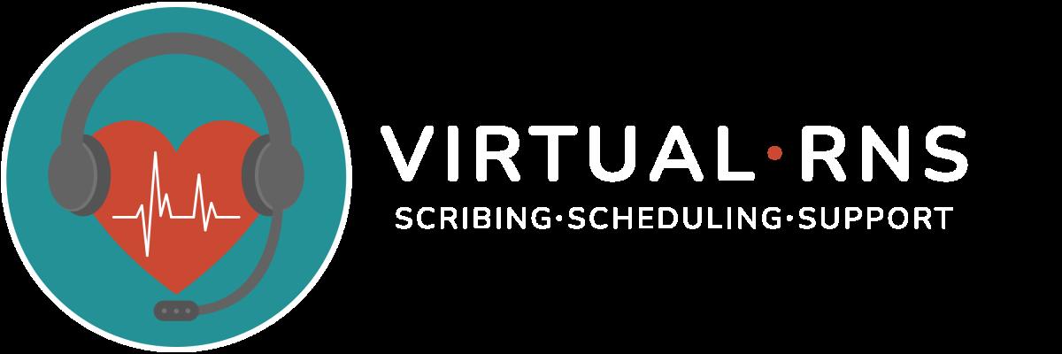 Virtual RNS Logo - Horizontal WHITE NEW